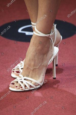 Stock Picture of Elena Anaya, shoe detail