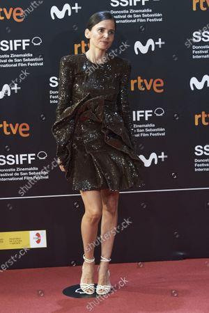 Editorial image of San Sebastian International Film Festival, Opening Red Carpet, Spain - 18 Sep 2020