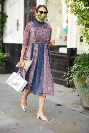 Editorial photo of Bora Aksu Exits, Spring Summer 2021, London Fashion Week, UK - 18 Sep 2020