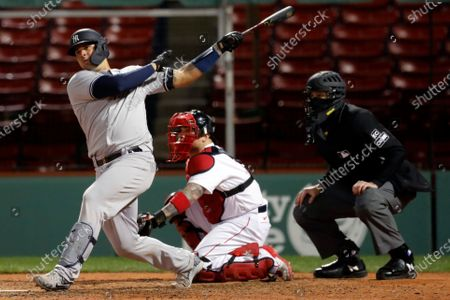 Editorial picture of Yankees Red Sox Baseball, Boston, United States - 18 Sep 2020