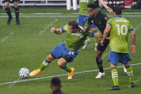 Editorial image of MLS LAFC Sounders Soccer, Seattle, United States - 18 Sep 2020