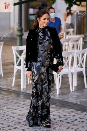 Eugenia Silva attends the Royal Theatre Season Inauguration at Teatro Real.