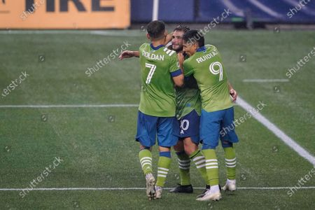 Editorial picture of MLS Sounders LAFC Soccer, Seattle, United States - 18 Sep 2020