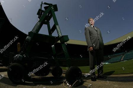 Alan Mills Wimbledon Referee.