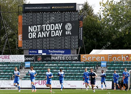 A 'Not today or any day' EFL message is shown on the big screen.