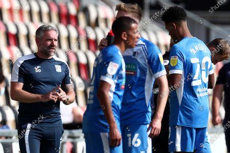 Editorial photo of Newport County v Barrow, EFL Sky Bet League Two, Football, Rodney Parade, Newport, Wales, UK - 19 Sep 2020