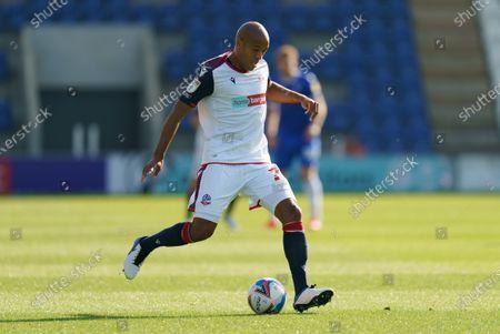 Alex Baptiste of Bolton Wanderers