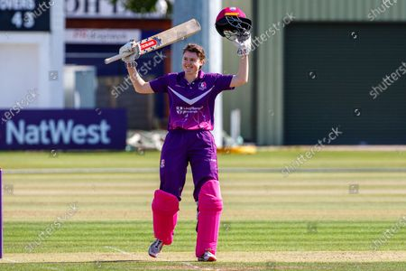 Editorial photo of Loughborough Lightning v Central Sparks, Rachael Heyhoe Flint Trophy - 19 Sep 2020