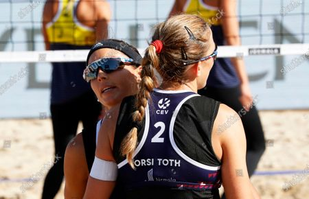 Editorial picture of Beach Volleyball European Championships, Jurmala, Latvia - 19 Sep 2020
