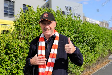 Blackpool supporters glad to be going to the game at Bloomfield Road