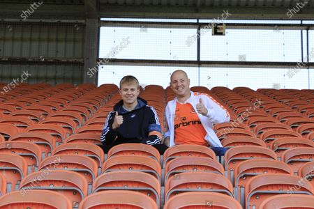 Blackpool supporters glad to be back inside Bloomfield Road for todayÕs game