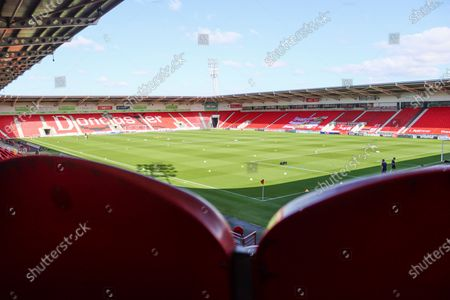 A general view of the keepmoat stadium