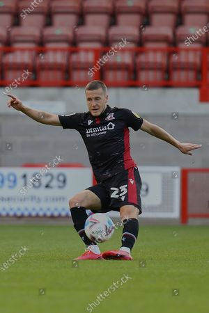 Frank Vincent of Scunthorpe United during Crawley Town vs Scunthorpe United, Sky Bet EFL League 2 Football at Broadfield Stadium on 19th September 2020