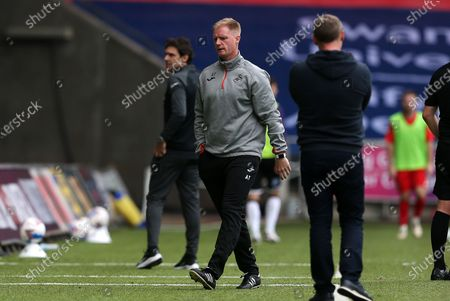 Swansea Assistant Manager Alan Tate.