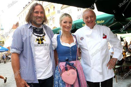 Monika Gruber / mühsamer Anstich + Alfons Schuhbeck bürgerlich Alfons Karg + Stadtrat