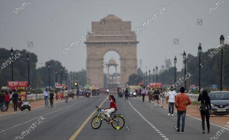Editorial image of Daily Life Amid Coronavirus Pandemic In India, New Delhi, Delhi - 19 Sep 2020