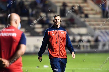 Stock Photo of Richard Kelly, forwards coach of Scarlets