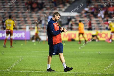 Richard Kelly, forwards coach of Scarlets
