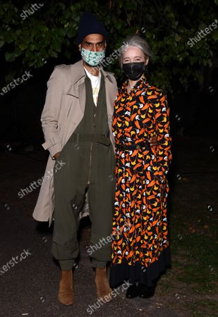 Stock Image of Darrell Vydelingum and Justine Simons