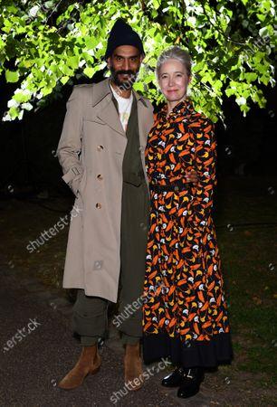 Darrell Vydelingum and Justine Simons