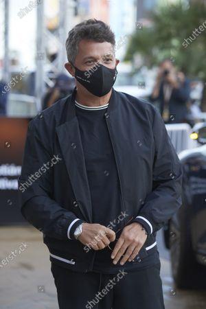 Alejandro Sanz arrives at Maria Cristina Hotel during 68th San Sebastian International Film Festival