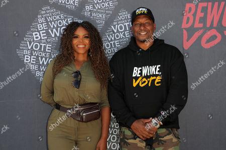 Aja Brown and Deon Taylor