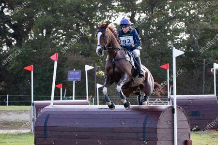 Editorial photo of Zara Tindall riding Class Affair, Kings Lynn, UK - 19 Sep 2020