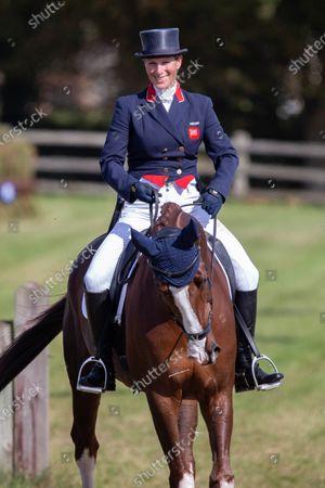 Zara Tindall riding Class Affair
