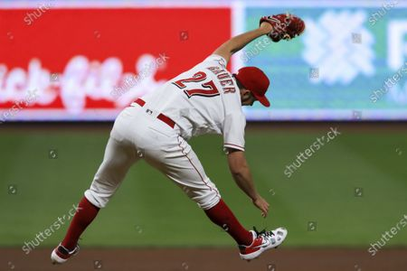 Editorial image of White Sox Reds Baseball, Cincinnati, United States - 19 Sep 2020