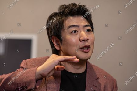Chinese pianist Lang Lang performs during an interview with EFE, in Beijing, China, 14 September 2020. Lang Lang released his recordings on Johann Sebastian Bach's monumental work 'Goldberg Variations' on 04 September 2020.