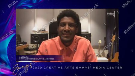 """Labrinth received his Emmy for Outstanding Original Music And Lyrics for the original song """"All For Us"""" from """"Euphoria's"""" final episode """"And Salt The Earth Behind You"""" earlier this week and is interviewed about his win in the 2020 Creative Arts Emmy Awards Media Center on at 8:00 PM EDT/5:00 PM PDT on FXX"""