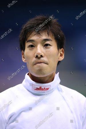 Koki Kano - Fencing : The 73rd All Japan Fencing Championships Men's Epee quarter-final at Komazawa Olympic Park Gymnasium, Tokyo, Japan.