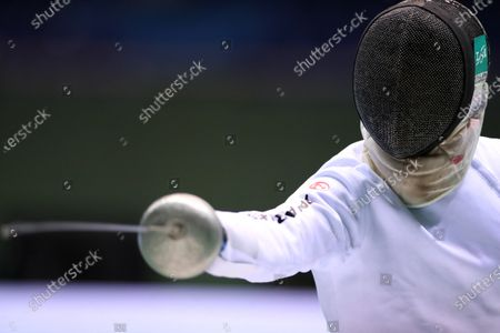 Koki Kano - Fencing : The 73rd All Japan Fencing Championships Men's Epee semi-final at Komazawa Olympic Park Gymnasium, Tokyo, Japan.