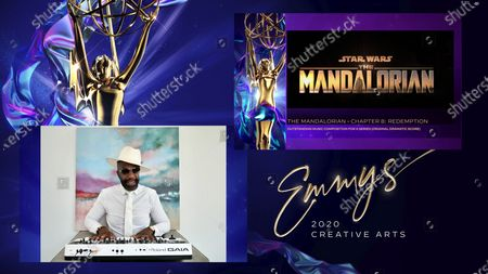 Editorial image of 2020 Creative Arts Emmy Awards on FXX, Los Angeles, United States - 19 Sep 2020