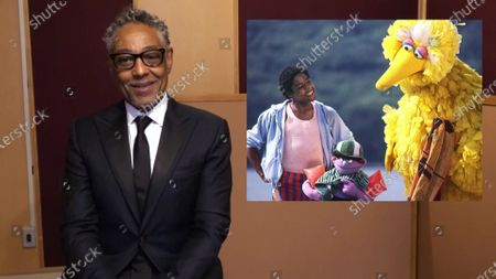 Giancarlo Esposito presents the Emmy for Outstanding Children's Program during the 2020 Creative Arts Emmy Awards telecast on at 8:00 PM EDT/5:00 PM PDT on FXX