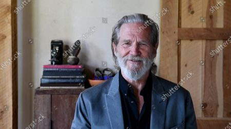 Stock Picture of Jeff Bridges presents the Emmy for Outstanding Guest Actress In A Drama Series during the 2020 Creative Arts Emmy Awards telecast on at 8:00 PM EDT/5:00 PM PDT on FXX