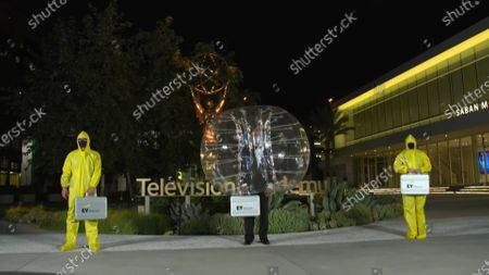 Ernst & Young during the 2020 Creative Arts Emmy Awards telecast on at 8:00 PM EDT/5:00 PM PDT on FXX