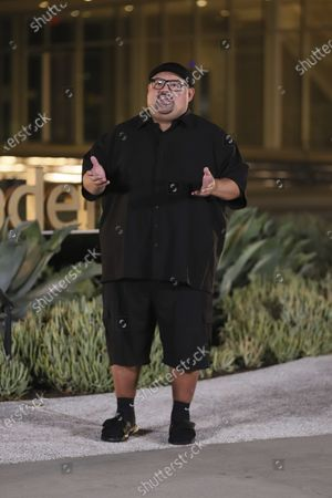 Gabriel Iglesias presents the Emmy for Outstanding Interactive Extension Of A Linear Program during the 2020 Creative Arts Emmy Awards telecast on at 8:00 PM EDT/5:00 PM PDT on FXX