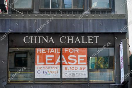 A China Chalet, the Financial District establishment that was a Chinese restaurant by day and party spot by night, has closed permanently on September 19, 2020.
