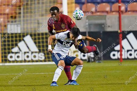 Editorial image of MLS Whitecaps Real Salt Lake Soccer, Sandy, United States - 19 Sep 2020