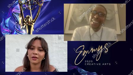 Emmy history was made when Ron Cephas Jones won the Emmy for Outstanding Guest Actor in a Drama Series, joining his daughter Jasmine Cephas Jones, who was named Outstanding Actress in a Short Form Comedy or Drama Series earlier this week, to become the first father-daughter duo to win Emmys in the same year at the 2020 Creative Arts Emmy Awards
