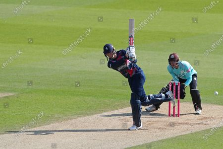Editorial picture of Surrey v Kent, Vitality Blast, T20 Cricket, Kia Oval, London, UK - 20 Sep 2020