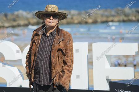 Stock Image of Julian Temple during 68th San Sebastian International Film Festival at Kursaal Palace on in Donostia, San Sebastian, Spain