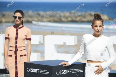 Barbara Lennie, Irene Escolar during 68th San Sebastian International Film Festival at Kursaal Palace on in Donostia, San Sebastian, Spain