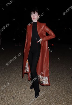 Editorial picture of Serpentine Gallery opening, London, UK - 19 Sep 2020