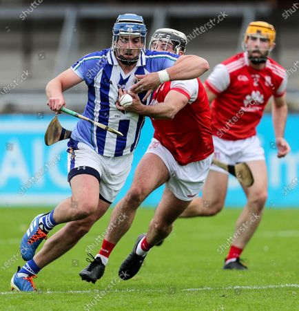 Ballyboden St. Enda's vs Cuala. Ballyboden St. Enda's Paul Doherty and Jake Malone of Cuala