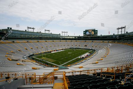 Editorial image of Lions Packers Football, Green Bay, United States - 20 Sep 2020
