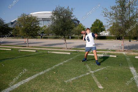 Editorial photo of Falcons Cowboys Football, Arlington, United States - 20 Sep 2020