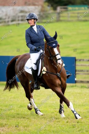 Stock Photo of Zara Tindall during the final day at the Burnham Market Horse Trials