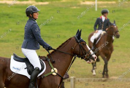 Zara Tindall riding Class Affair at the Burnham Market International Horse Trials
